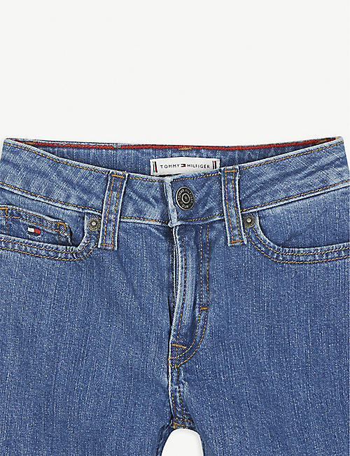 TOMMY HILFIGER High rise denim jeans 4-16 years