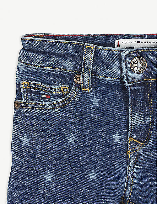TOMMY HILFIGER Nora star-print denim jeans 4-16 years