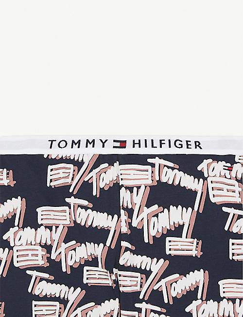 TOMMY HILFIGER Logo cotton-blend pyjama set 8-16 years