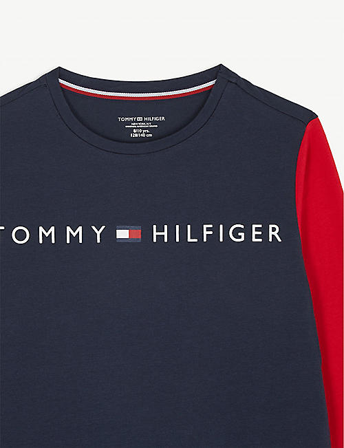 TOMMY HILFIGER Flag cotton nightdress 8-16 years