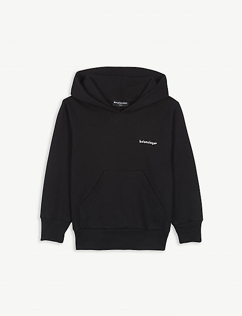 BALENCIAGA Logo cotton-blend hoody 4-10 years