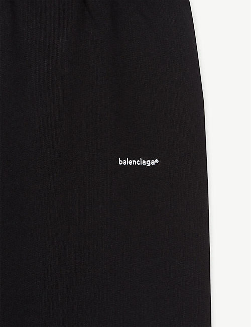 BALENCIAGA Trademark logo cotton joggers 4-10 years