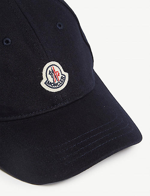 MONCLER Logo baseball cap 8-16 years