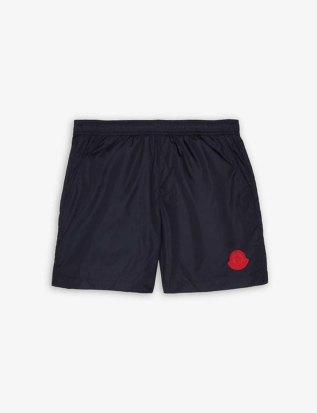 cb0cba0e5 MONCLER - Appliqué logo swim shorts 4-14 years | Selfridges.com