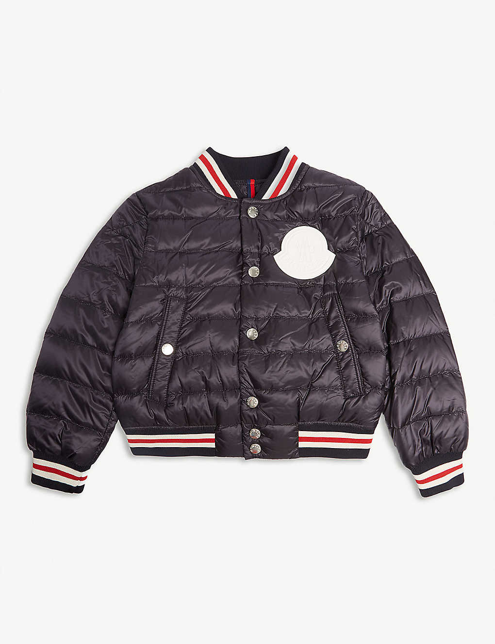 61fc1ca1bf79 MONCLER - Padded bomber jacket (4-14 years)