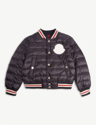 MONCLER Padded bomber jacket (4-14 years)