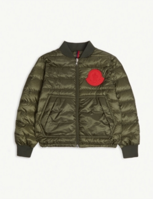 MONCLER Motu padded bomber jacket 4-14 years
