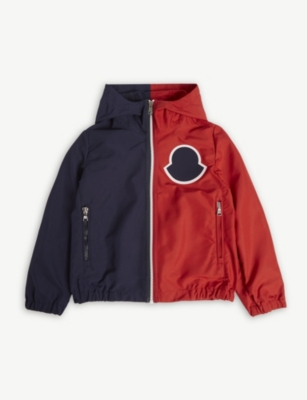 MONCLER Omer hooded shell jacket 4-14 years