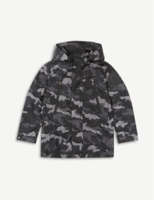 MONCLER Ribble camouflage-print nylon jacket 4-6 years