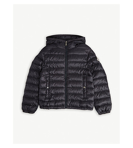 142043d7e MONCLER - Morvan hooded jacket 4-14 years