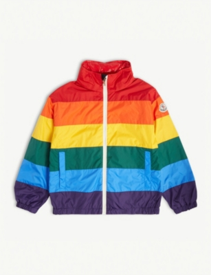 MONCLER Cyclamen rainbow jacket 4-8 years