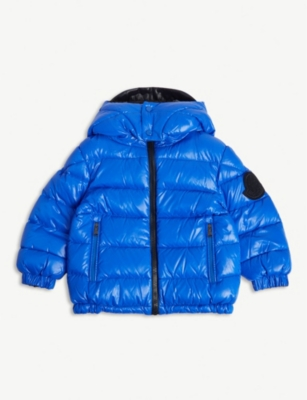 MONCLER Dieppe reversible hooded puffer jacket 4-14 years