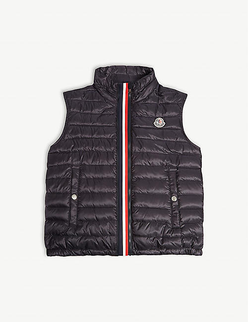 3a6b33017 MONCLER - Blavet quilted gilet 4-14 years | Selfridges.com