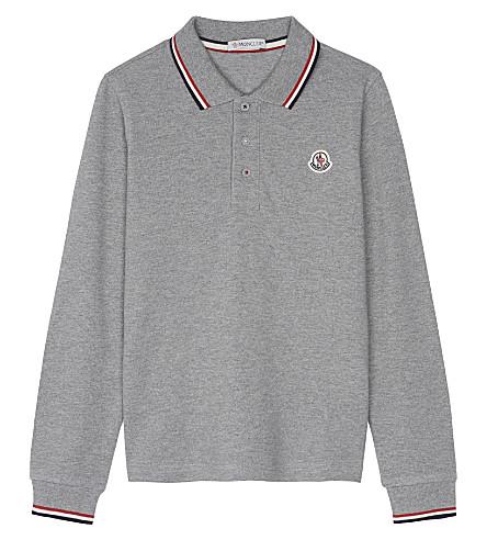 c16b2223c moncler long sleeve polo shirt