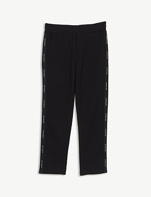 MONCLER Logo tape cotton-blend joggers 4-14 years