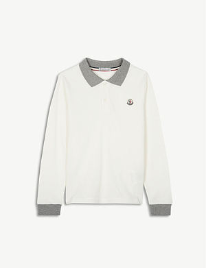 bfd9e115b MONCLER - Maglia polo top 4-14 years