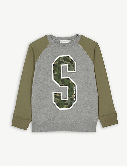 016f7acfb019 STELLA MCCARTNEY Sport logo jumper 4-16 years