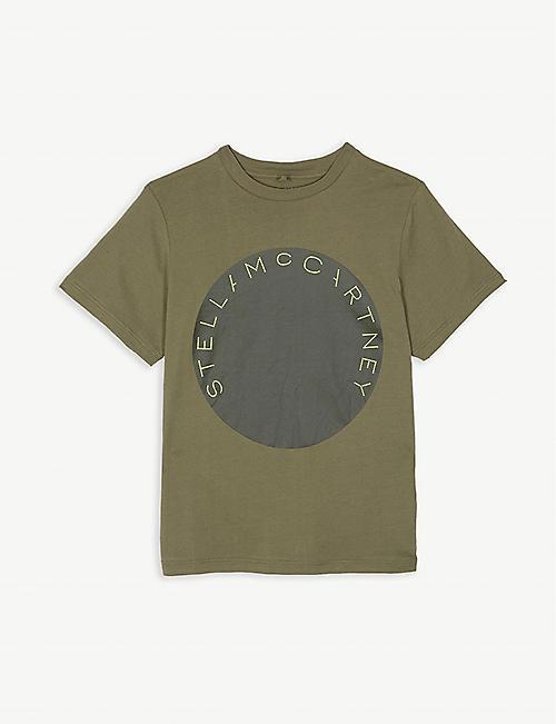 fd58677eb2d85 STELLA MCCARTNEY Circle logo cotton T-shirt