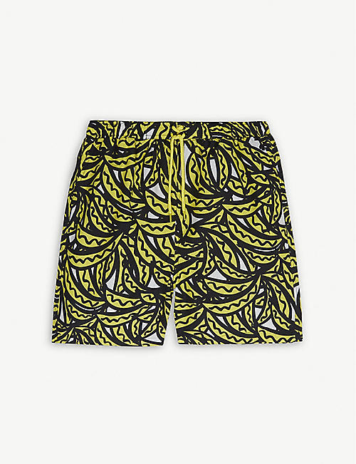 STELLA MCCARTNEY Banana print swim shorts 4-16 years