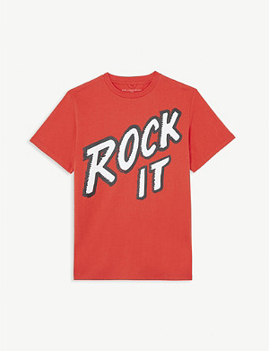 STELLA MCCARTNEY Rock It cotton T-shirt 4-14 years