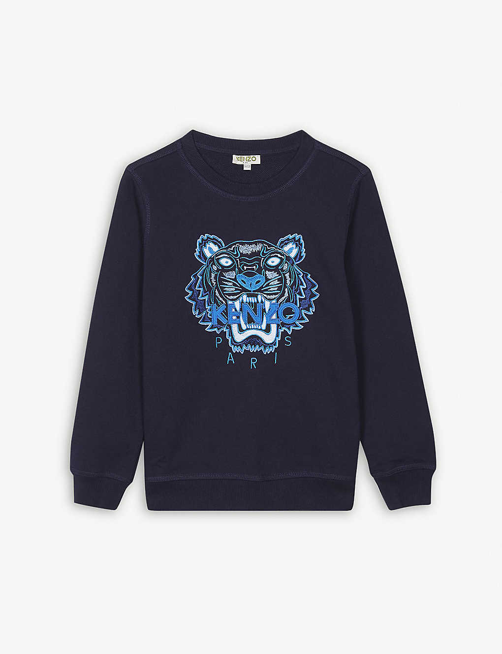 668d7875 KENZO - Kenzo Tiger Embroidered Jumper 4-16 years | Selfridges.com