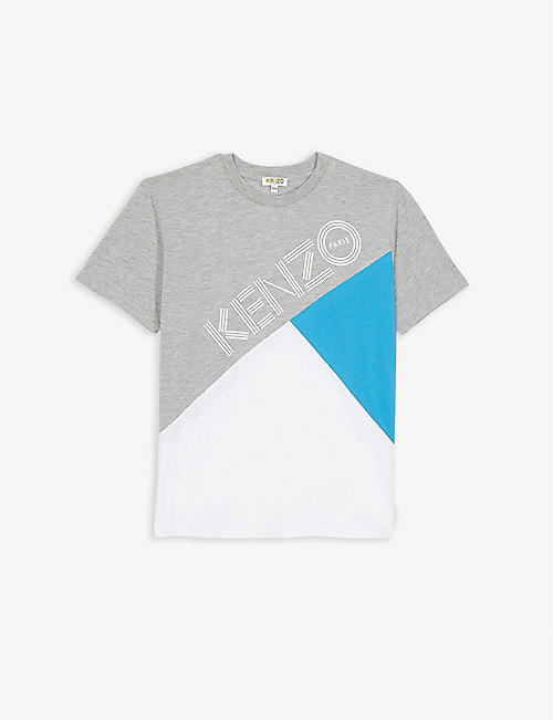 KENZO Colour block T-shirt 4-14 years