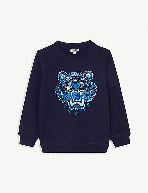 KENZO Icon tiger motif cotton sweatshirt (4-14 years) 7c3539c9c