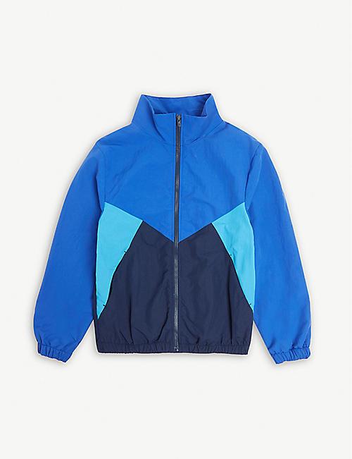 dec988c7c1da4 KENZO Logo colour block zip jacket 4-14 years