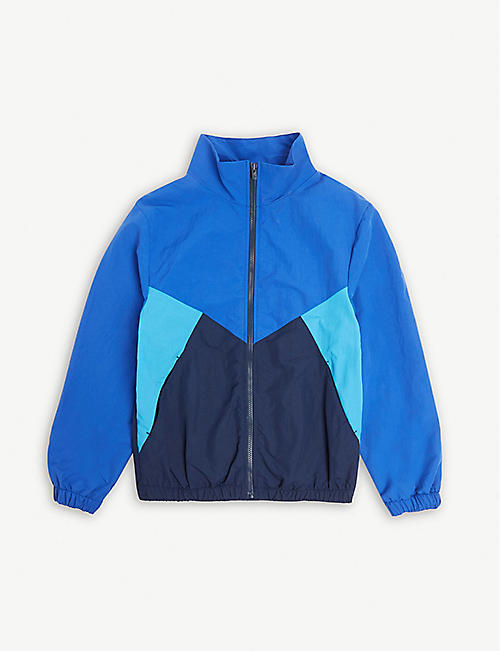 938a602f8c58 KENZO Logo colour block zip jacket 4-14 years
