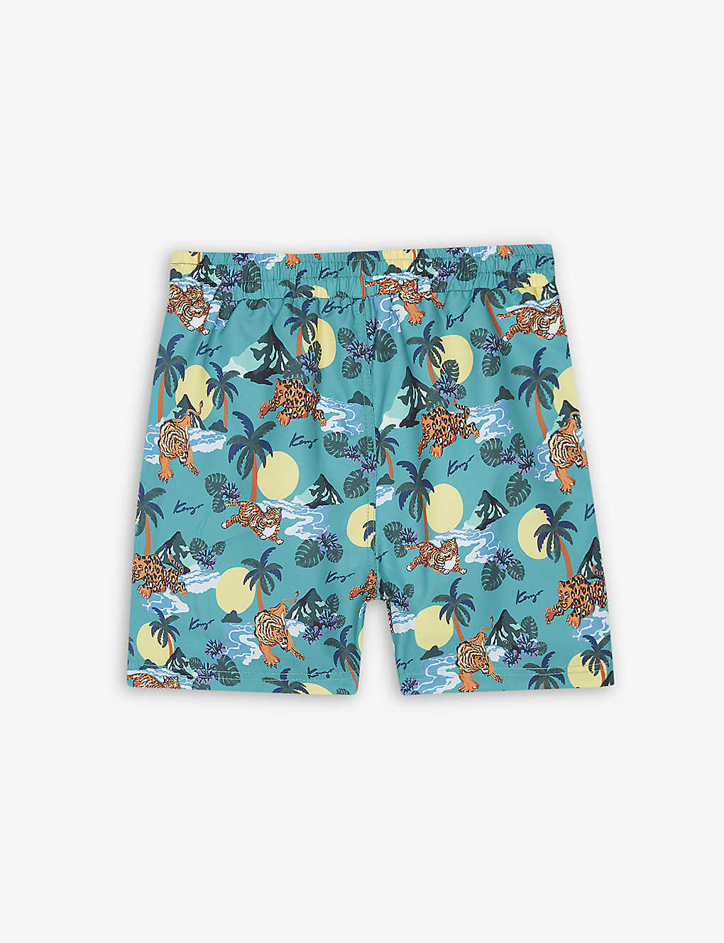 0bc297660bf7d KENZO - Hawai print swim shorts 4-14 years | Selfridges.com