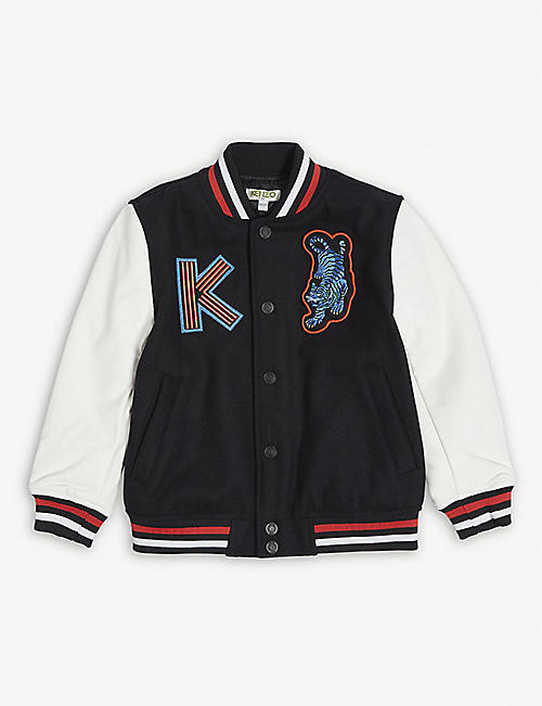 KENZO Patches bomber jacket 4-14 years