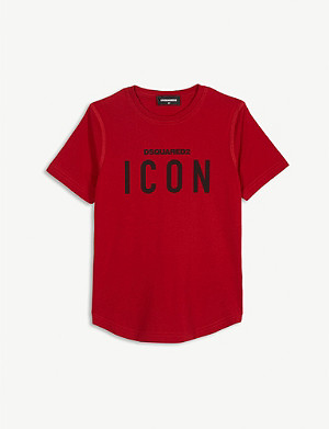 DSQUARED2 Icon cotton T-shirt 4-16 years