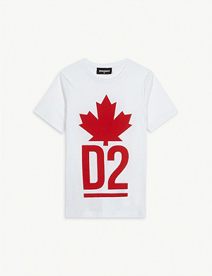 DSQUARED2 Maple leaf T-shirt 4-16 years