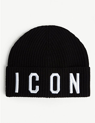 DSQUARED2: Kids Icon beanie hat 12-36 months