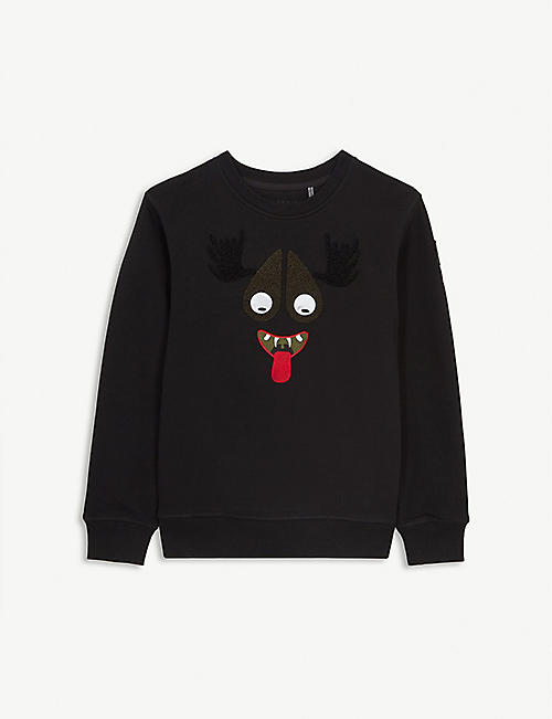 MOOSE KNUCKLES Moose Haha cotton jumper S-XL