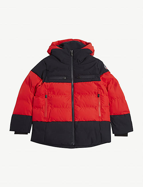FUSALP Lauzon hooded ski jacket
