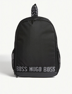 BOSS Logo nylon backpack