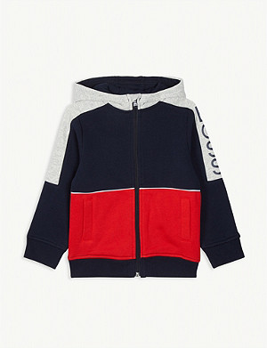 BOSS Colour-block hoody 4-16 years