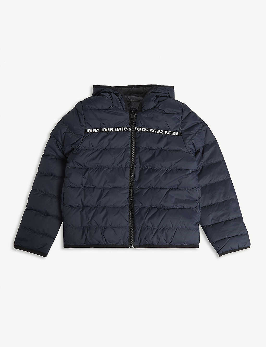 e998914d26 ... Reversible down-filled puffer jacket 4-16 years - Blue navyblack ...