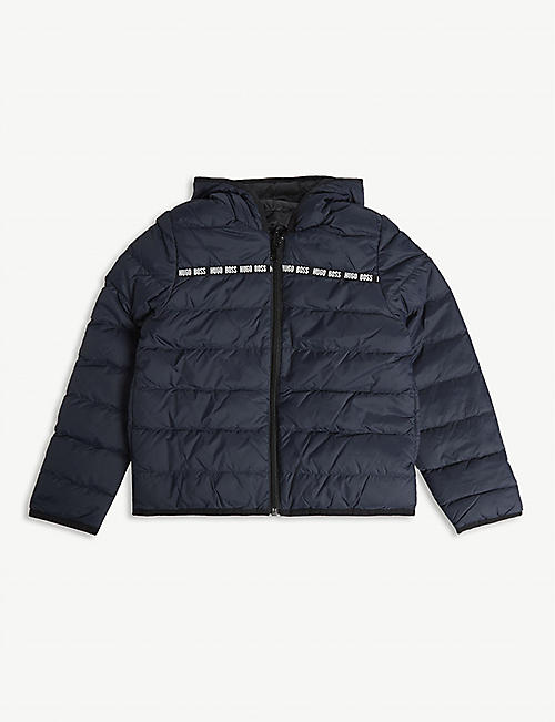 BOSS Reversible down-filled puffer jacket 4-16 years