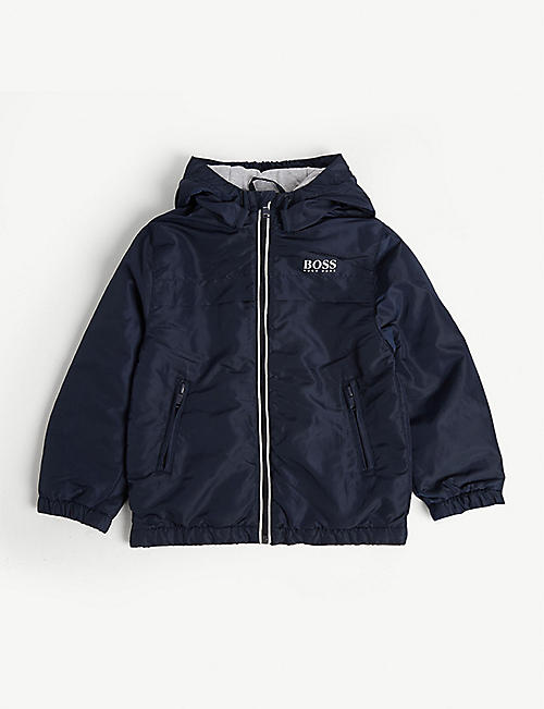 BOSS Logo padded jacket 4-16 years