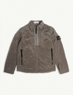 STONE ISLAND Nylon jacket 4-14 years