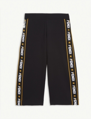 FENDI Fendi x Fila logo tape joggers 4-14 years