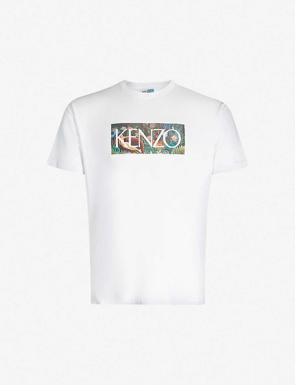 968d7b4dcee KENZO - Memento Wild cotton-jersey T-shirt | Selfridges.com
