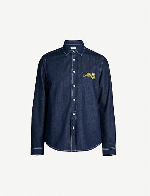 9e569e79 KENZO - Clothing - Mens - Selfridges | Shop Online