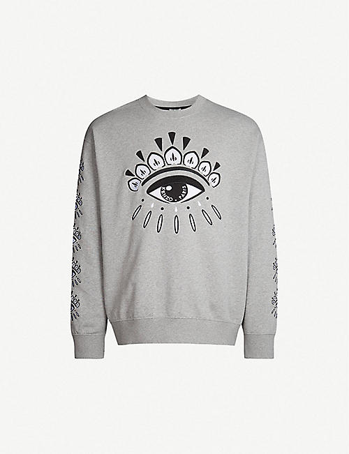 2b57be4f KENZO - Sweatshirts - Tops & t-shirts - Clothing - Mens - Selfridges ...