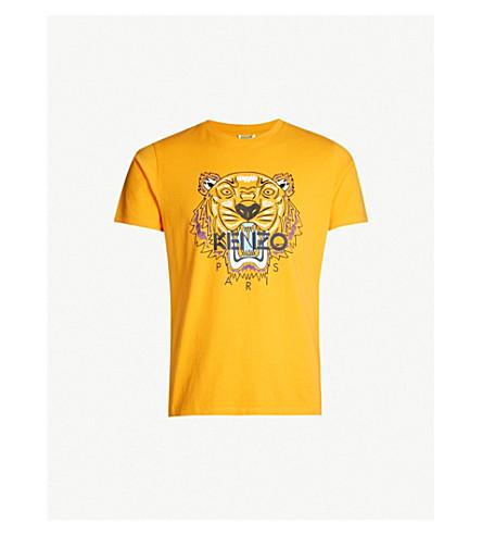 aac24481f KENZO - Tiger-print cotton-jersey T-shirt | Selfridges.com