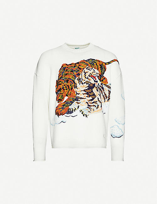 KENZO Tiger Cloud knit jumper