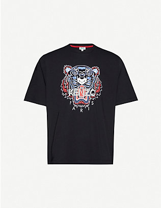 KENZO: Tiger classic-fit cotton-jersey T-shirt