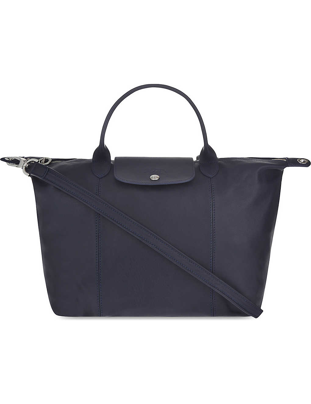 d053731ecc LONGCHAMP - Le Pliage Cuir medium leather shopper | Selfridges.com